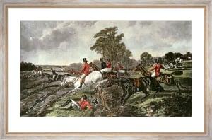 Fox Hunting - Plate 3 (Restrike Etching) by John Frederick Herring
