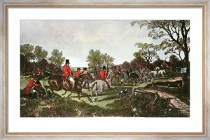 Fox Hunting - Plate 4 (Restrike Etching) by John Frederick Herring