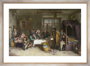 Distraining For Rent (Restrike Etching) by Wilkie