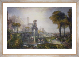 Caligula's Bridge (Restrike Etching) by Joseph Mallord William Turner
