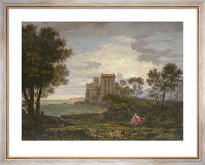 Enchanted Castle (Restrike Etching) by Claudio Larense
