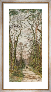 Pleasant Shady Lane (Restrike Etching) by Frederick Albert Slocombe