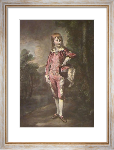 Pink Boy (Restrike Etching) by Thomas Gainsborough