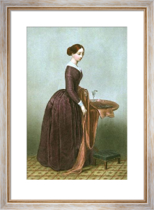 Dress Maker (Restrike Etching) by RSE Gallon