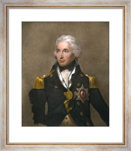 Lord Nelson (Bust) (Restrike Etching) by Lemuel Francis Abbott