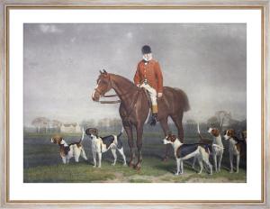 Charles Barnet (Restrike Etching) by S. Price