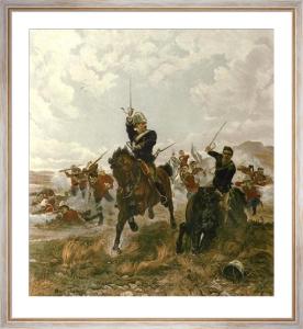 Floreat Etona (Restrike Etching) by Lady Elizabeth Butler