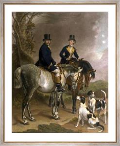 Duke & Duchess of Beaufort (Restrike Etching) by Sir Francis Grant