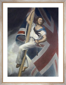 Champion of England (Restrike Etching) by Thomas Herbert Maguire