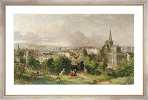 View of Glasgow (Restrike Etching) by Houston
