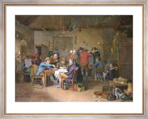 Village Politicians (Restrike Etching) by Wilkie