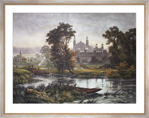 Eton From The Thames (Restrike Etching) by Robert Gallon