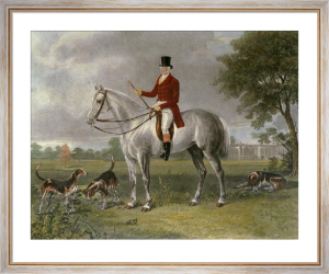 Lord Delamere (Restrike Etching) by Henry Calvert