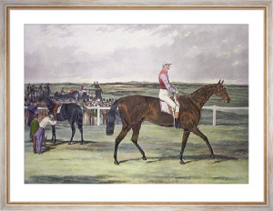 Knight of St George (Restrike Etching) by Harry Hall