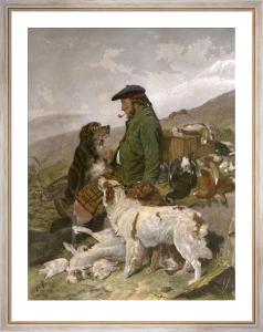 Scotch Gamekeeper (Restrike Etching) by Richard Ansdell