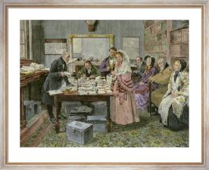 Marriage by Registrar (Restrike Etching) by Walter Dendy Sadler