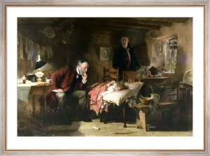 The Doctor (Restrike Etching) by Sir Samuel Luke Fildes