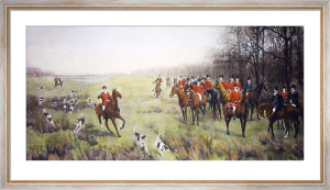 Bedale Hunt (Restrike Etching) by Amy Stobart