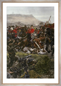 Chip Off The Old Block, A (Restrike Etching) by Richard C. Woodville