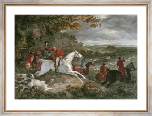 Breaking Cover (Restrike Etching) by Philip Reinagle