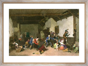 Blind Man's Bluff (Restrike Etching) by Wilkie