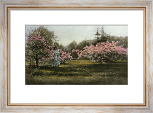 Kew Gardens - Plate 8 (Restrike Etching) by Georgina M De L'Aubiniere