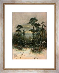 Kew Gardens - Plate 11 (Restrike Etching) by Georgina M De L'Aubiniere