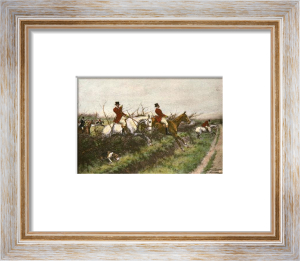 Through the Bullfinch (Small) (Restrike Etching) by Wright