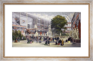 Great Exhibition 1851 (Restrike Etching) by Thomas Abiel Prior