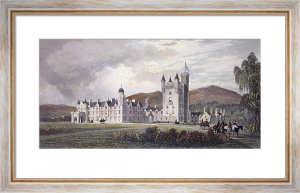 Balmoral Castle (Restrike Etching) by Edward Duncan