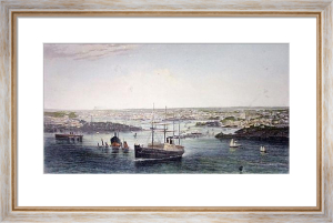 Sydney (Restrike Etching) by Anonymous