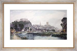 Nottingham (Restrike Etching) by Edward Duncan