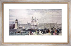 Ramsgate (Restrike Etching) by G.H. Andrews