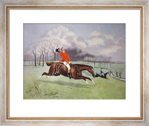 In The Hunt (Restrike Etching) by TNH Walsh