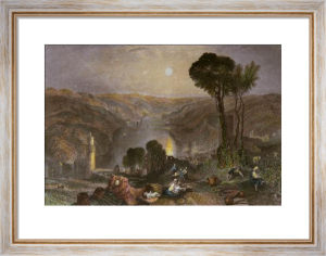 Oberwesel (Restrike Etching) by Joseph Mallord William Turner