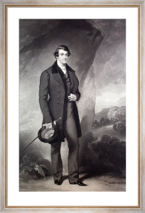 Sir John Yarde Buller (Restrike Etching) by Sir Francis Grant