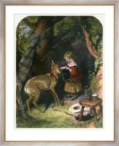 The Pets (Restrike Etching) by Sir Edwin Henry Landseer