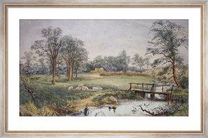 Springtime at Ashford (Restrike Etching) by Arthur Willet