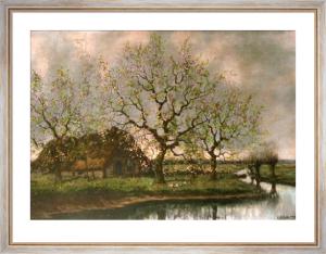 Spring (Restrike Etching) by Arnold Marc Gorter