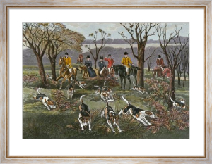 Breaking Away (Restrike Etching) by Frank Watson