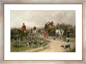 Meet at the Crossroads (Restrike Etching) by Wright