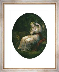 Una (Restrike Etching) by Angelica Kauffmann