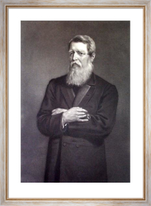 Sir Stafford Northcote (Restrike Etching) by Edwin Long