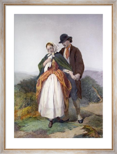 Proposal, The (Restrike Etching) by Henry Tidey