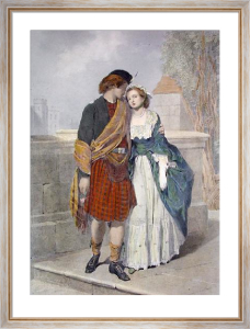 Accepted (Restrike Etching) by Henry Tidey