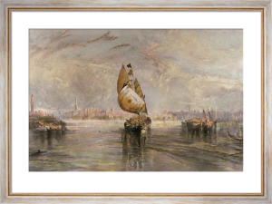 The Sun of Venice Going out to Sea (Restrike Etching) by Joseph Mallord William Turner