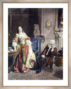 Love Scorned (Restrike Etching) by William Powell Frith
