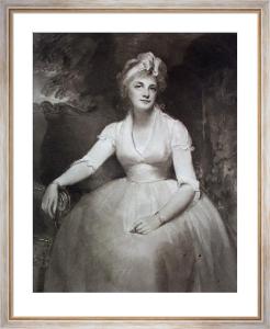 Mrs Dawson (Restrike Etching) by George Romney