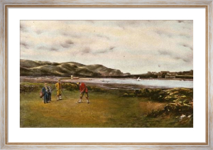 Putting Green (Large) (Restrike Etching) by Douglas Adams