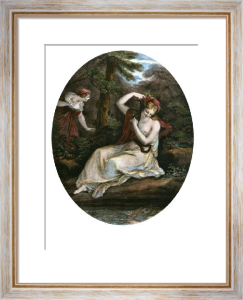 Sylvia (Restrike Etching) by Angelica Kauffmann
